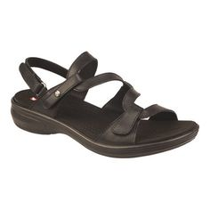 fc4fb43cbdb6 Revere Comfort Shoes Women s Miami Strappy Sandal