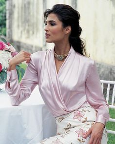 Silk wrap blouse                                                                                                                                                                                 More