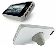 cool phone holders - Silicone Case Cover Stand For iPhone 5/5S