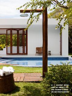 outdoor shower | beach house #decor #summer #outdoors