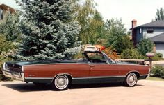1968 Mercury Park Lane Convertible Maintenance/restoration of old/vintage vehicles: the material for new cogs/casters/gears/pads could be cast polyamide which I (Cast polyamide) can produce. My contact: tatjana.alic@windowslive.com