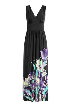 long dress ... for the beach?