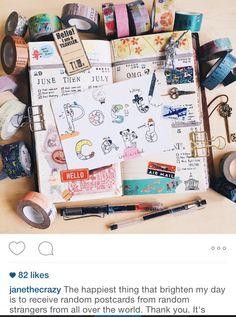 Journaling is fun! Follow my Instagram @janethecrazy