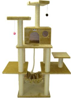 Tarzan Cat Tree - Cat Condo
