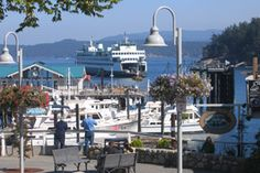 I love this view. Right from the restaurant. Friday Harbor, San Juan Island, WA