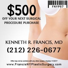 Get a $500 off your next surgical procedure purchase. Call us now for your free…