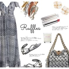 How To Wear Ruffles-Top Fashion Sets for 7-7-16 Outfit Idea 2017 - Fashion Trends Ready To Wear For Plus Size, Curvy Women Over 20, 30, 40, 50