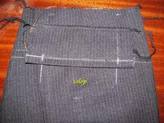 записная книжка: Технология обработки мужских классических брюк Swatch, Sewing, Pattern, Pants, Style, Fashion, High Fashion, Patterns, Moda