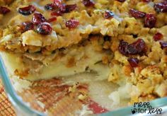 Thanksgiving Dinner Casserole