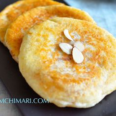 Want to try making this yummy Korean hotteok pancake at home? It's actually easier than you think! The warm sweet syrup inside makes it a perfect dessert or snack for kids. See my post at  www.kimchimari.com