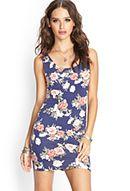 Crossback Floral Dress