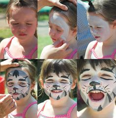 Face painting - 6 Easy Steps