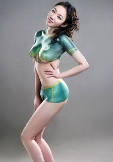 Opinion Sexy model body paint xxx opinion