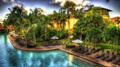 pool in a tropical resort hdr - Desktop Nexus Wallpapers Exotic Beaches, Desktop Pictures, Beach Resorts, Yahoo Images, Hdr, Image Search, Cool Art, Tropical, Outdoor Decor