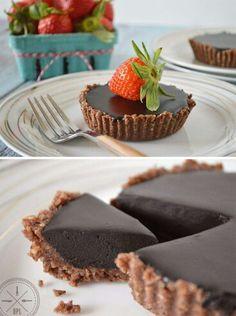 Chocolate Hazlenut Tarts