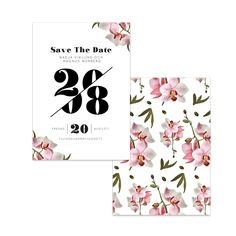 Vacker orkidé – Save The Date – The Paper Story Save The Date, Dating, Invitations, Paper, Products, Quotes, Save The Date Invitations, Invitation