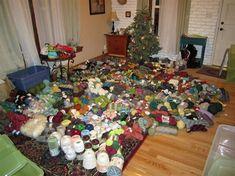 Tips for organizing your yarn stash!
