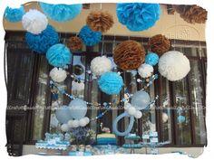 baby shower crafts | Claudell Crafts: +Fiesta Temática: Baby Shower Elefantes (niño)+