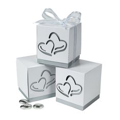 Love Wedding Favor Boxes - OrientalTrading.com