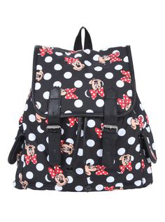 Loungefly Disney Minnie Mouse Slouch Backpack | For Disney World