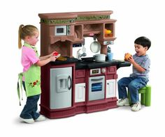 These are such Popular kids toys!! Best toys 2 year olds!  Little Tikes Gourmet Prep 'n Serve Kitchen