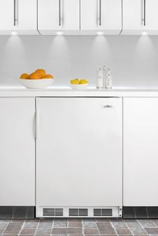 FF6ALBI Series | Summit | ADA Compliant | with door rack and vegetable/fruit crisper