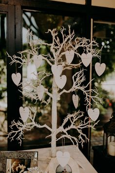 Wish Tree Hearts Wooden Guest Book Romantic Rainy Wedding Irene Yap Photography #WishTree #Hearts #Wooden #GuestBook #Wedding