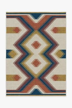 Anza Polychrome Rug is a familiar but unexpected take on a geometric weave-like patterns, reminiscent of the structural steps in Aztec architecture, in bright, playful colors of terracotta, ocean blue and dijon. Aztec Architecture, Stone Rug, Turquoise Rug, Plum Rug, Machine Washable Rugs, Gold Rug, Black Rug, Design Studios