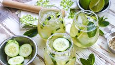 Cucumber and Green Tea Mojito #recipe #mojito