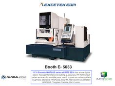 NEW EXCETEK EDM WG PLUS 650 at Booth E 5033