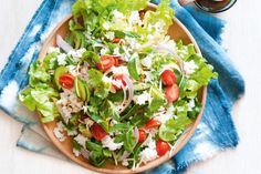 Give rice a mega flavour boost with this colourful salad.