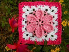 366 granny's-project 2012 (includes a link to flower chart); lots of great squares