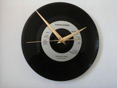 "Bananarama- nathan jones    7""  vinyl record clock  £6.99"