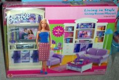 Barbie Living in Style Living Room Playset
