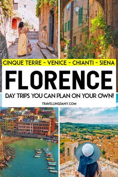 30 amazing day trips from Florence: visit Tuscany like a local! Let's see how to spend one day in Siena discover the best fairytale towns in Italy and the out of the beaten track areas like Garda Lake Cinque Terre Venice and much more! Places To Travel, Places To See, Travel Destinations, Rome Travel, Italy Travel, Travel Europe, Travel Photos, Travel Tips, Travel Advice