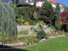 Galéria - Realizácie záhrad - Aquabiom Golf Courses, Sidewalk, Side Walkway, Walkway, Walkways, Pavement
