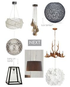 Easy Fit Pendant Lamps on the High Street