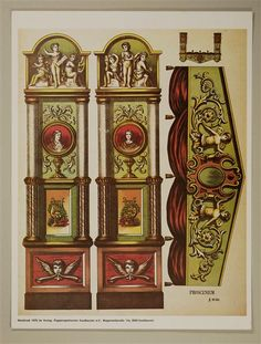 Proscenium No. 301, ideas for ornately decorating AG doll house with trim from lumber stores.