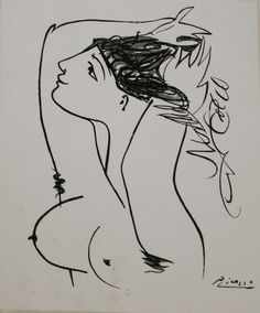 Pablo Picasso (1881-1972) erotic lithograph.JPG | Merrill's Auction