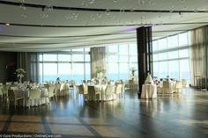 Crisp and Clean decor for Samantha & Steven's #oneatlanticwedding.  #walkonwater #doac #thisisac #idoinac