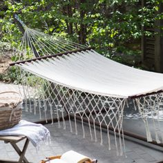 island bay xxl hand woven mayan solid thick string hammock with fringe and spreader bar   large grand caribbean nicaraguan hammock with spreader bar and      rh   pinterest