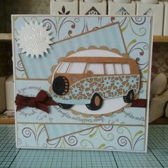 Using Tattered lace camper van
