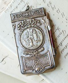 Antique 'Carnet de Bal' Souvenir de Lourdes, France