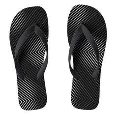 #black - #Black Background White Lines Flip Flops