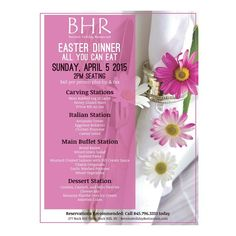 Still not sure of your #easter plans? Celebrate the day and enjoy a stress-free, mess-free dinner courtesy of Bernie's Holiday Restaurant. Dinner is $40/person - call 845.796.3333 for reservations. #bhr #catskills