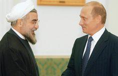 بوتين وروحاني يبحثان تطورات الأوضاع في اليمن وسير المفاوضات حول برنامج إيران النووي