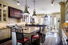 Traditional Kitchen by Michael S. Smith Inc. and Ferguson & Shamamian Architects in Los Angeles, California