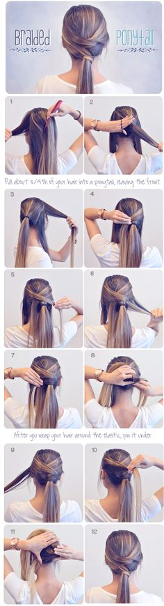 How To Make Braided Ponytail - Tutorial ~ Entertainment News, Photos & Videos - Calgary, Edmonton, Toronto, Canada