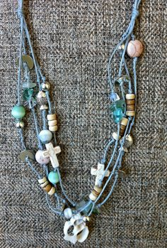 Sea and Sand Inspired Necklace