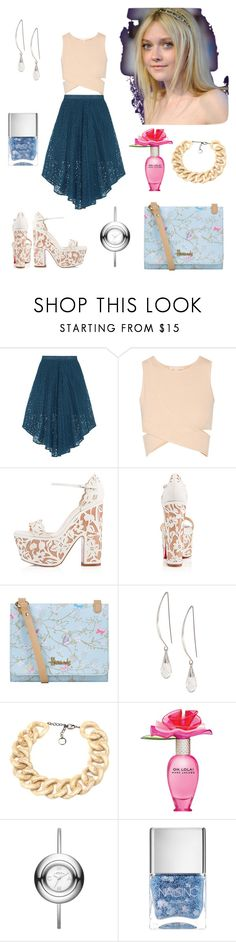 """Dakota Fanning"" by paolas91 ❤ liked on Polyvore featuring TIBI, Jonathan Simkhai, Christian Louboutin, Harrods, Lane Bryant, PONO, Marc Jacobs, Marc by Marc Jacobs and Nails Inc."